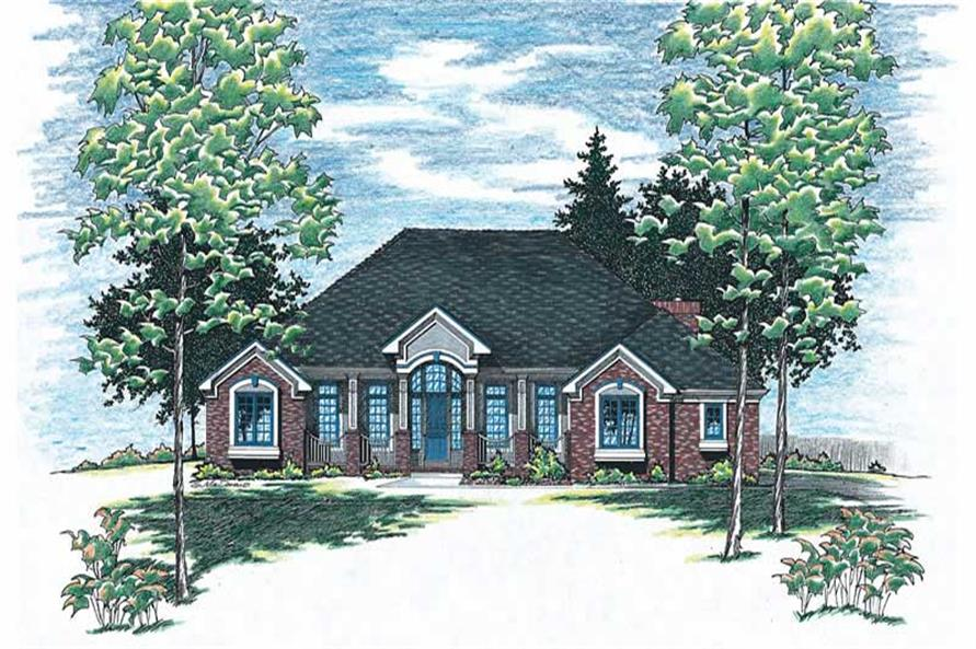 Main image for house plan # 6078