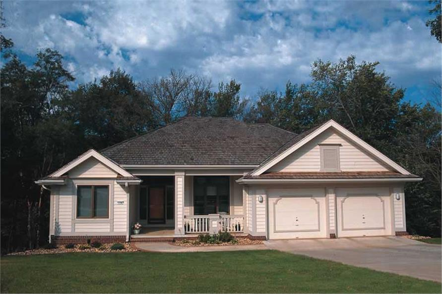 Main image for house plan # 6075
