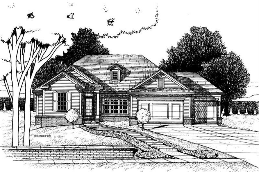 Main image for house plan # 6288