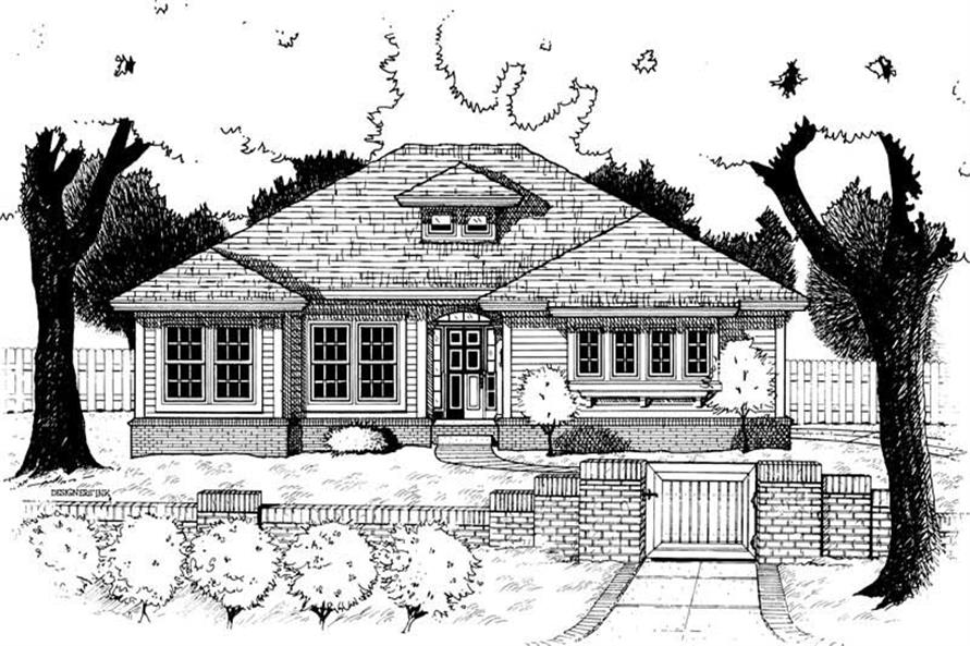 Main image for house plan # 6286