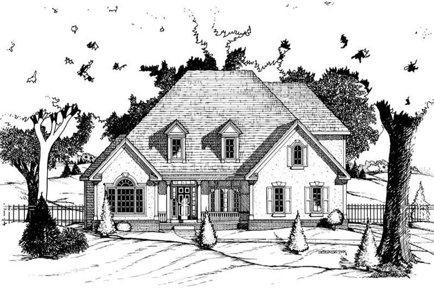Main image for house plan # 6279