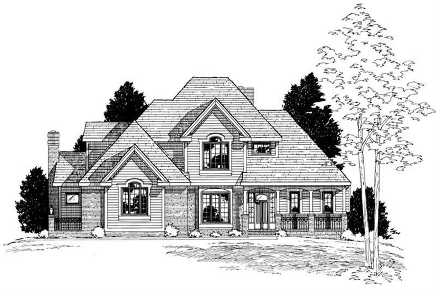 Main image for house plan # 6152