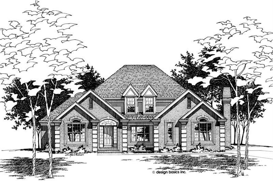 Main image for house plan # 6146