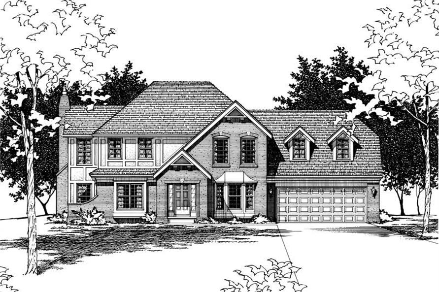 Main image for house plan # 6113
