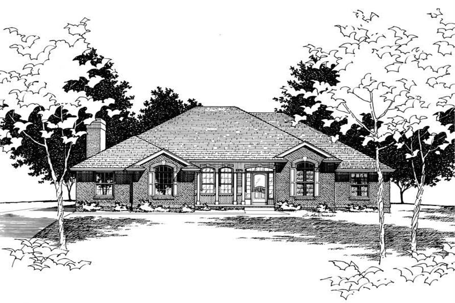 Rendering of this 3-Bedroom,1973 Sq Ft Plan -1973