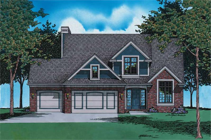 Main image for house plan # 6145