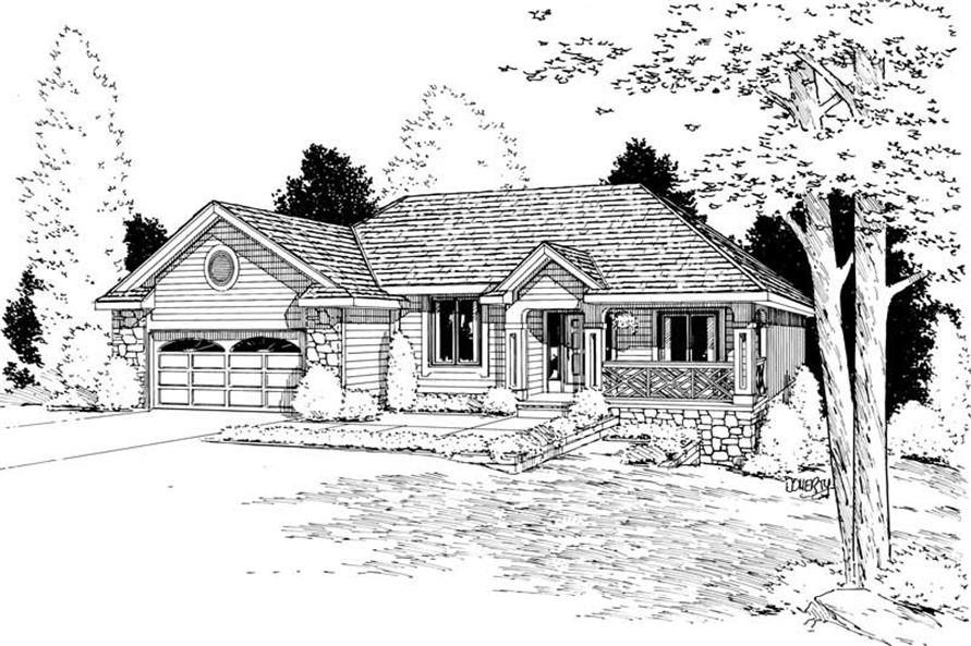 Main image for house plan # 5617
