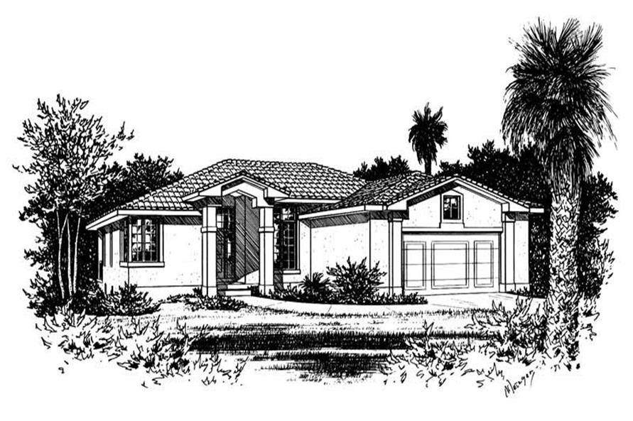 Main image for house plan # 5556