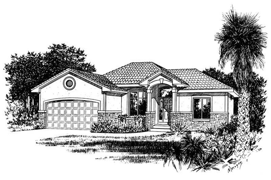 Main image for house plan # 5554