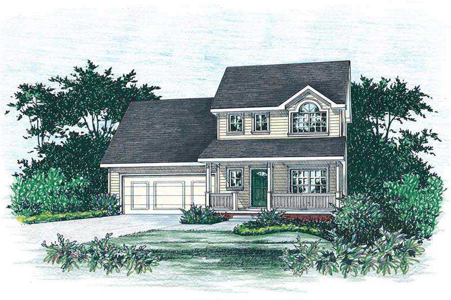 Main image for house plan # 5522