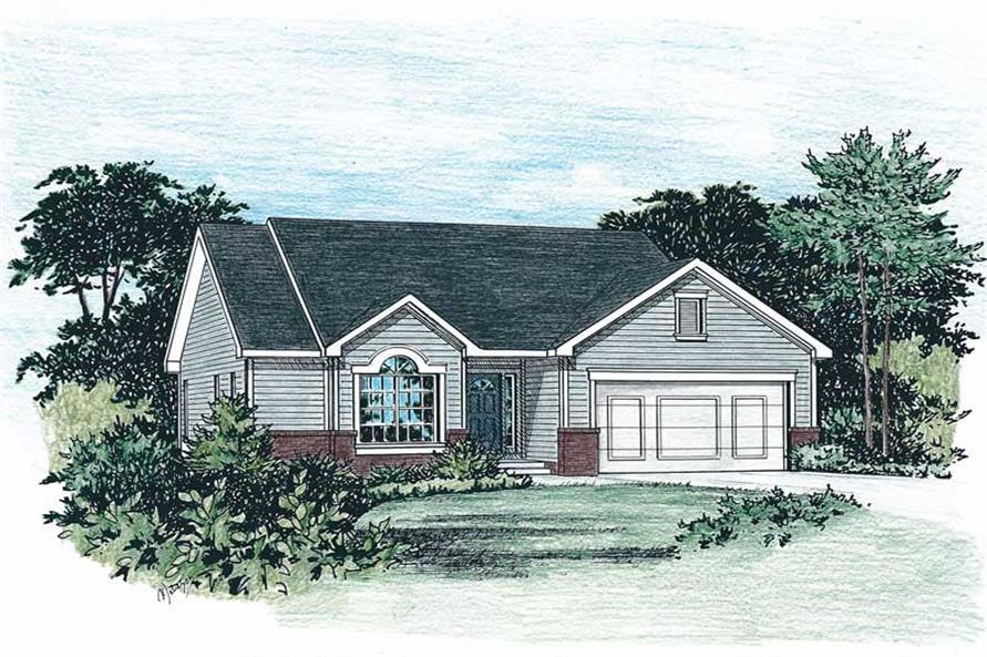 Main image for house plan # 5519