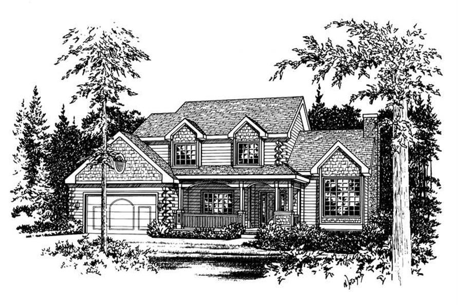 Main image for house plan # 5561