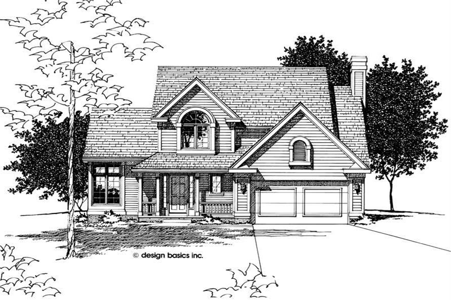 Main image for house plan # 6058