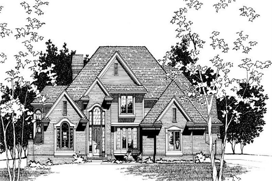 Main image for house plan # 6066