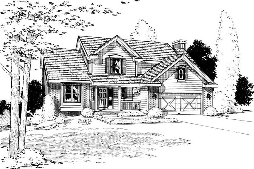 Main image for house plan # 5632