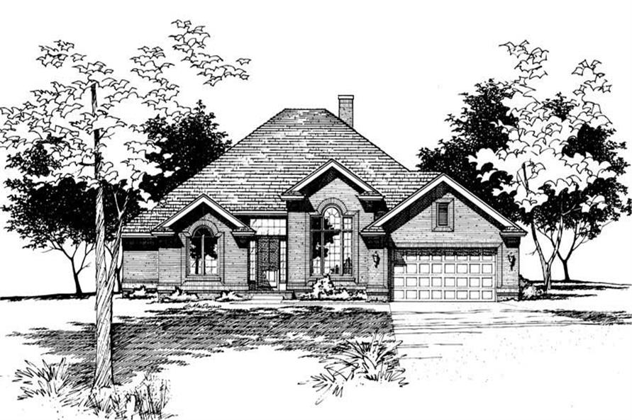 Main image for house plan # 5956
