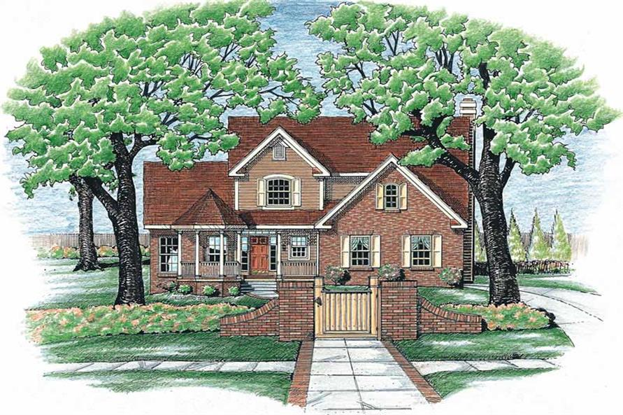 Main image for house plan # 6240