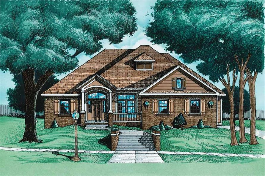 Main image for house plan # 6302