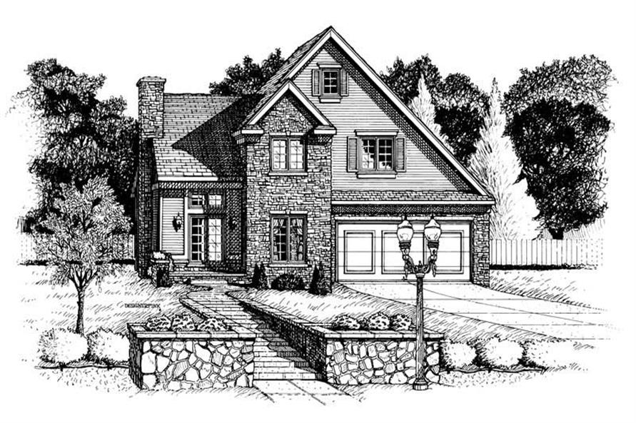 Main image for house plan # 6298