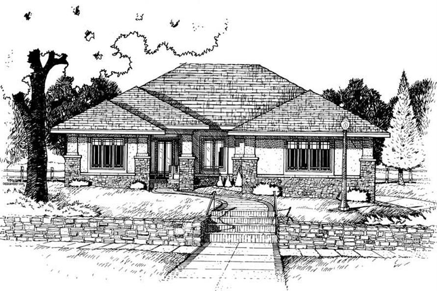 Main image for house plan # 6256