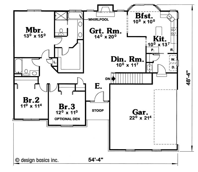 House Plan 120 1894 3 Bedroom 1660 Sq Ft Ranch Small