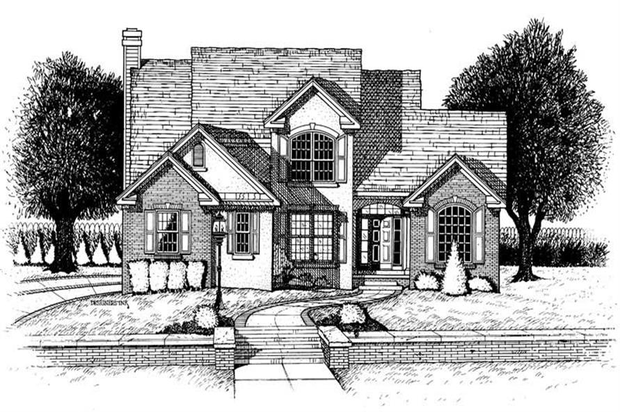 4-Bedroom, 2752 Sq Ft In-Law Suite Home Plan - 120-1895 - Main Exterior