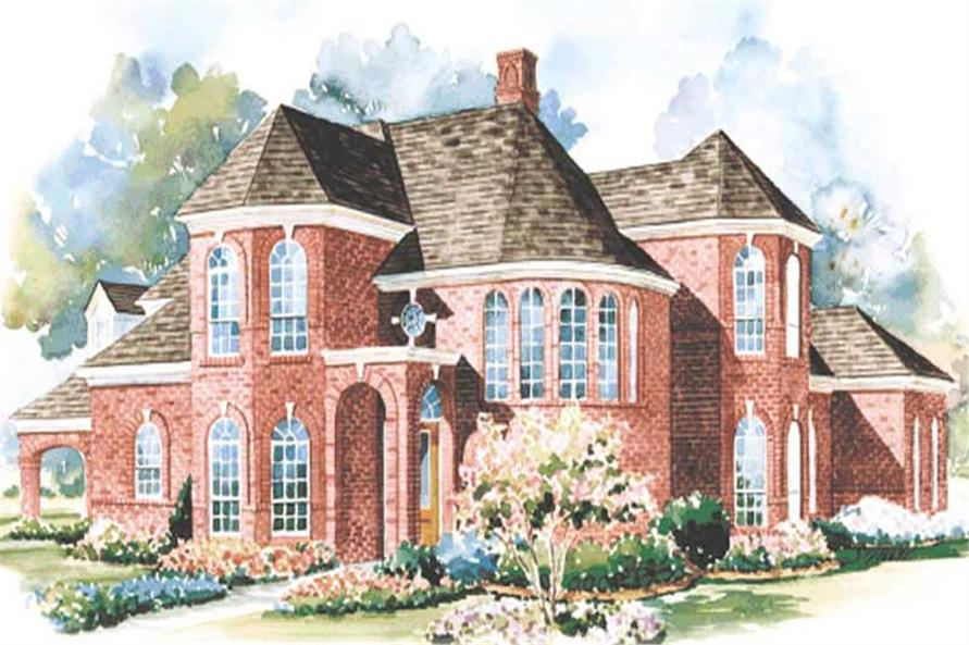 Main image for house plan # 6460