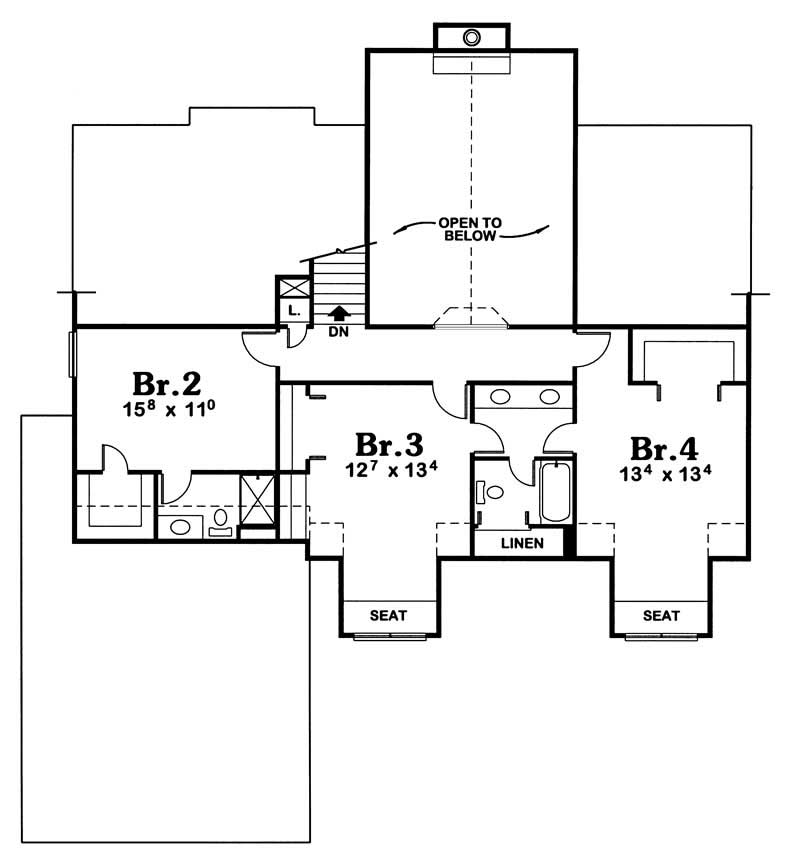 House plan 120 1900 4 bedroom 2781 sq ft country for 1900 sq ft house plans