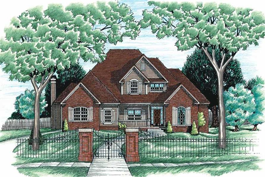 Main image for house plan # 6250
