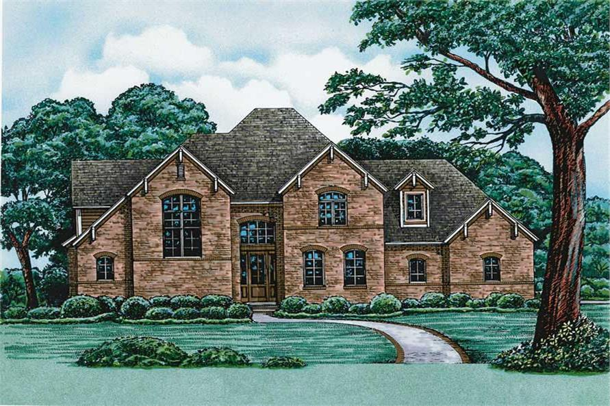 Main image for house plan # 6488