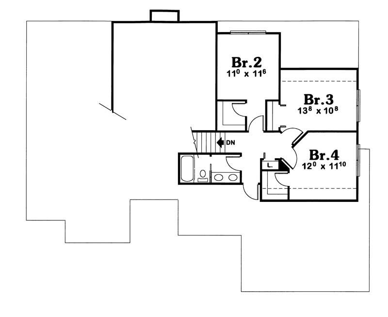 House Plan 120 1910 4 Bedroom 2600 Sq Ft Traditional