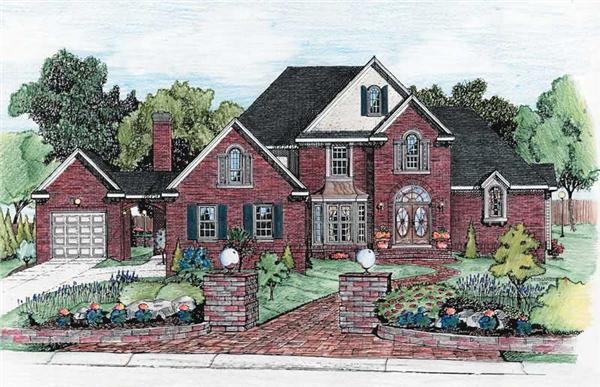 Main image for house plan # 6322