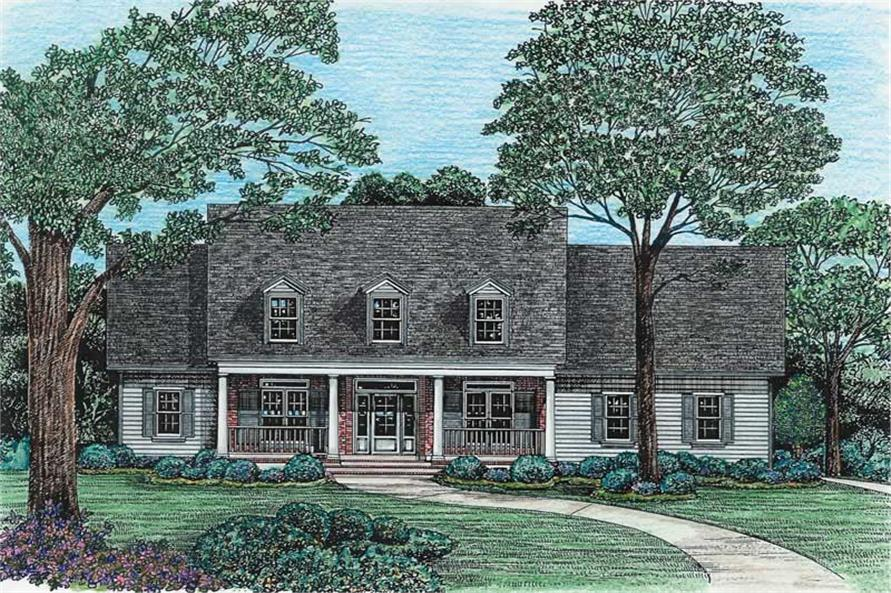 Main image for house plan # 6487