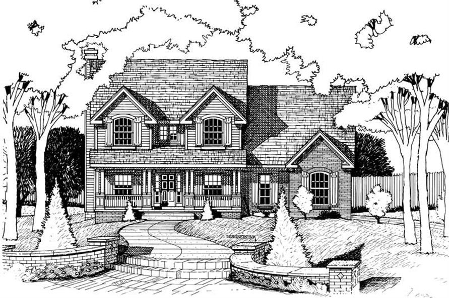 Main image for house plan # 6252