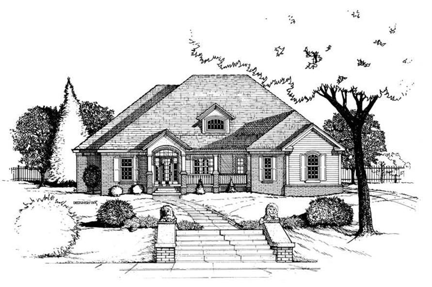 Rendering of this 4-Bedroom,2750 Sq Ft Plan -2750