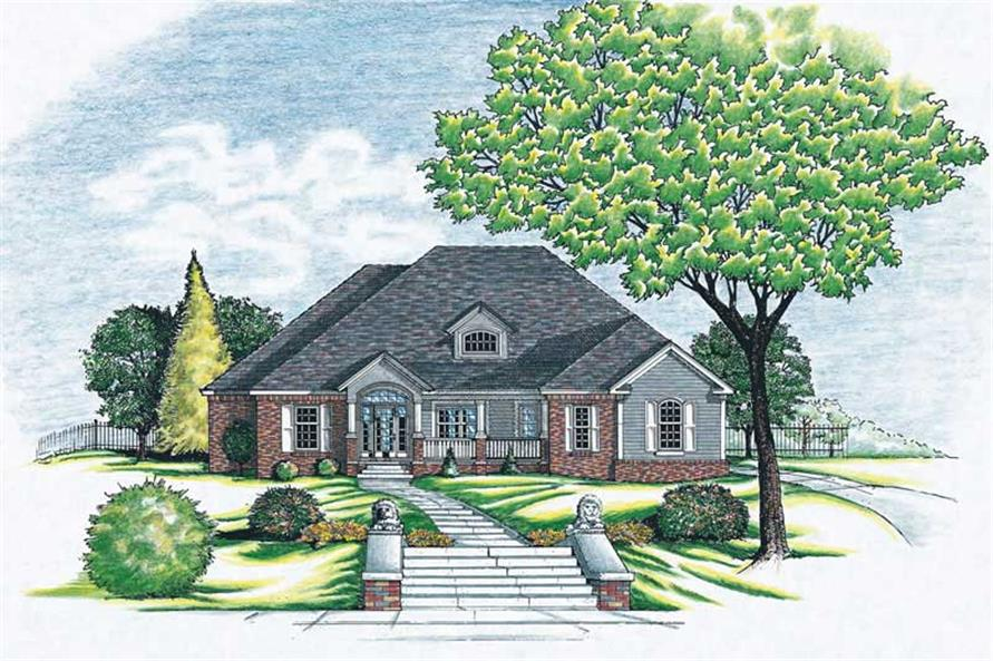 Main image for house plan # 6253