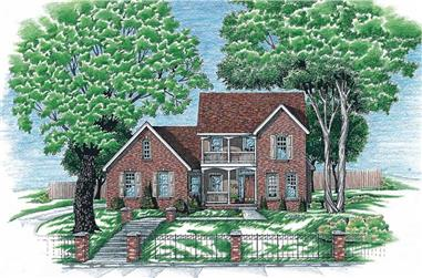 Main image for house plan # 6300
