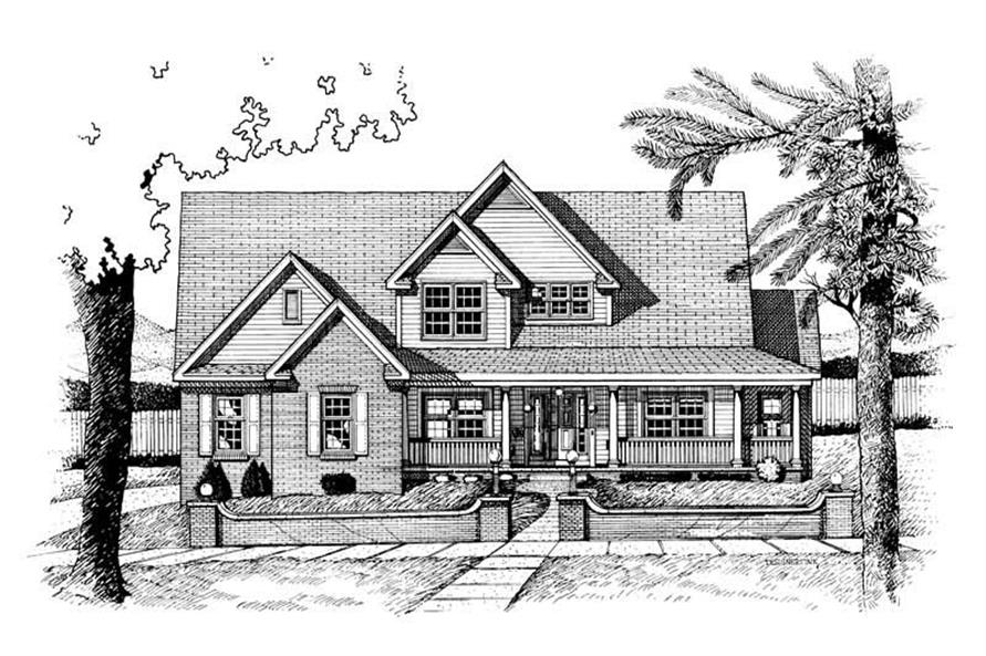 Main image for house plan # 6332