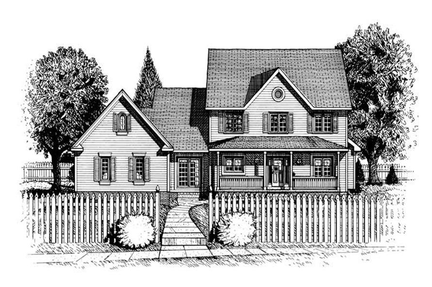 Main image for house plan # 6330