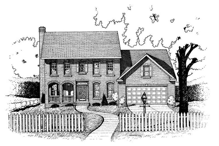 Main image for house plan # 6329