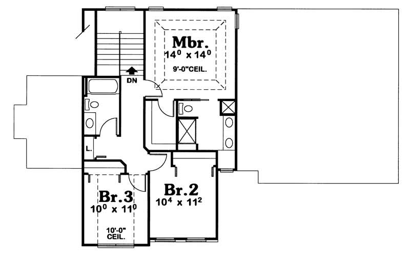 House Plan 120 1930 3 Bedroom 1706 Sq Ft European