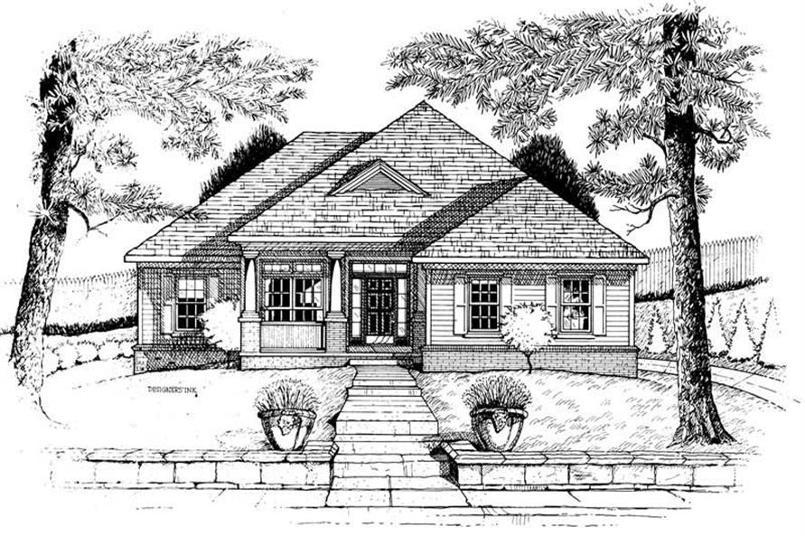 Main image for house plan # 6284