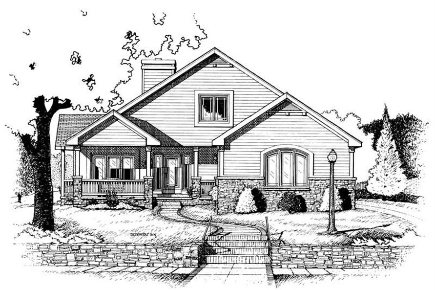 Main image for house plan # 6311