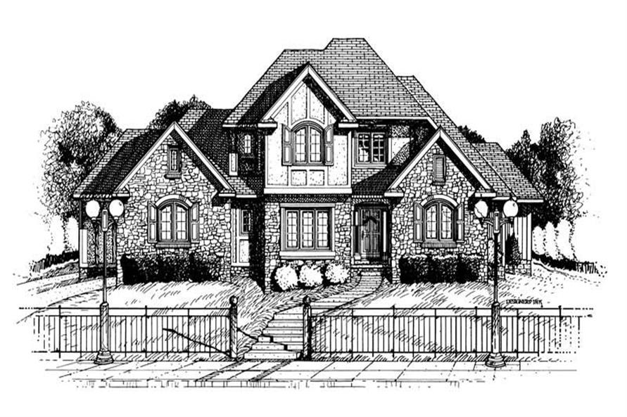 Main image for house plan # 6326