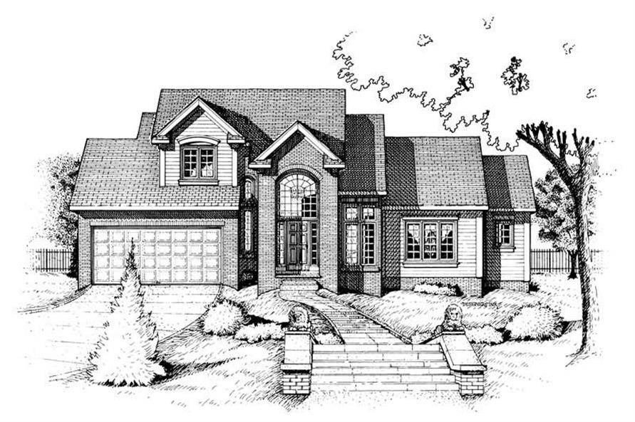 Main image for house plan # 6319