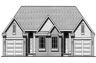 Main image for house plan # 6219