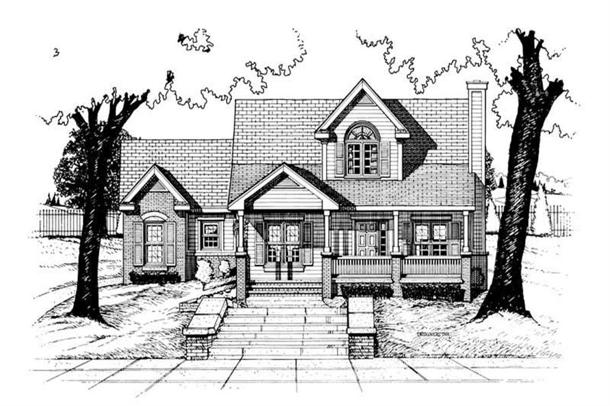 Main image for house plan # 6320