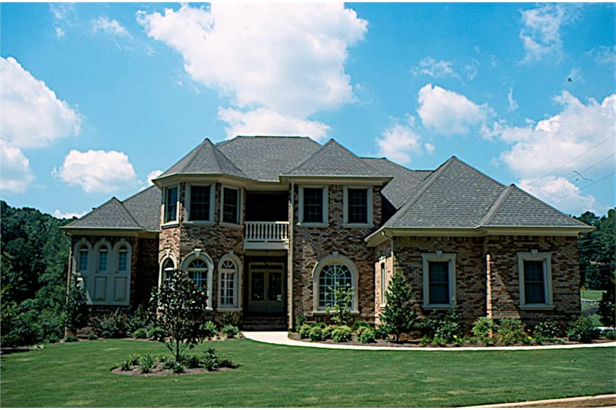 Front View of this 4-Bedroom,3094 Sq Ft Plan -3094