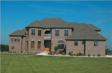 4-Bedroom, 3094 Sq Ft French Home - Plan #120-1942 - Main Exterior