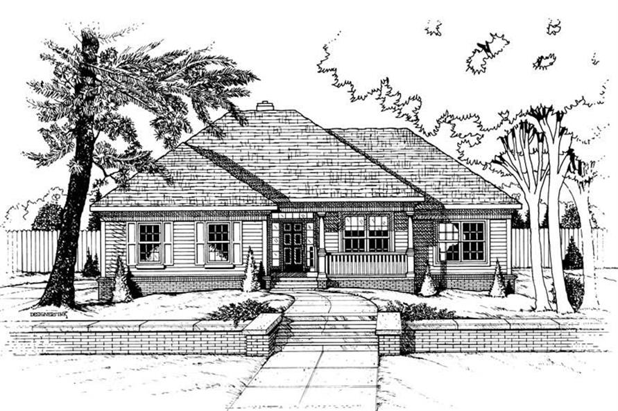 Main image for house plan # 6265
